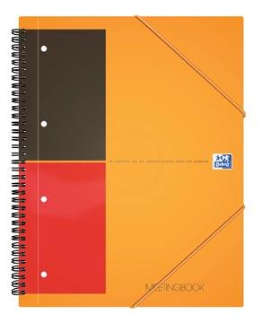 Oxford INTERNATIONAL Meetingbook, 160 bladzijden, ft A5+, gelijnd