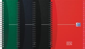 Oxford Office Essentials addressbook, 144 bladzijden, ft A5, geassorteerde kleuren