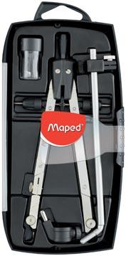 Maped verdeelpasser Giant 4-delige passerdoos: - 1 boogpasser - 1 verlengstang - 1 universele adapt...