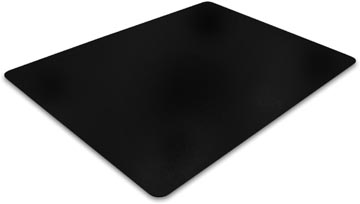Floortex vloermat Cleartex Advantagemat, voor harde oppervlakken, rechthoekig, ft 90 x 120 cm, zwart