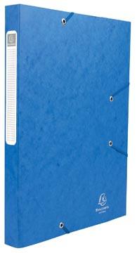 Exacompta Elastobox Cartobox rug van 2,5 cm, blauw, 5/10e kwaliteit