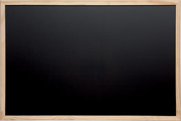 Maul krijtbord met houten frame, ft 60 x 90 cm