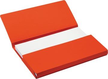 Jalema Secolor Pocketmap voor ft folio (34,8 x 23 cm), rood
