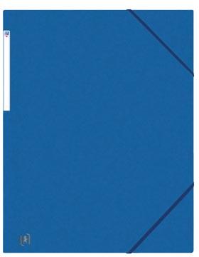 Oxford Top File+ elastomap, voor ft A3, blauw