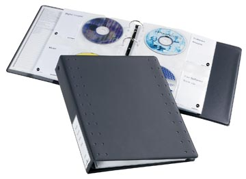 Durable CD/DVD ringboek voor 40 CD's