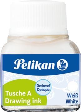 Pelikan Oost-Indische inkt wit, flesje van 10 ml