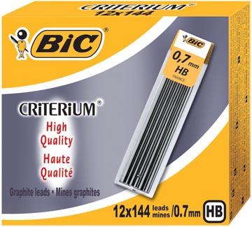 Conté criterium Gilbert mines etui van 12 potloodstiften van 0,7 mm