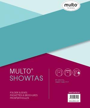 Multo geperforeerde showtas ft A5, 17-gaatsperforatie, glashelder