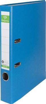Pergamy ordner, voor ft A4, uit Recycolor papier, rug van 5 cm, blauw