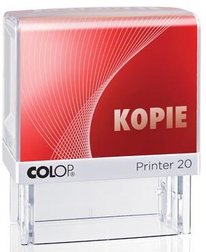 Colop formulestempel Printer tekst: KOPIE