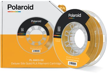 Polaroid 3D Universal Deluxe Silk PLA filament, 250 g, goud