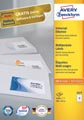 Avery Zweckform 3477, Universele etiketten, Ultragrip, wit, 100 vel, 14 per vel, 105 x 41 mm