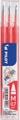 Pilot vulling voor Frixion Ball en Frixion ball clicker koraal roze, doosje met 3 stuks